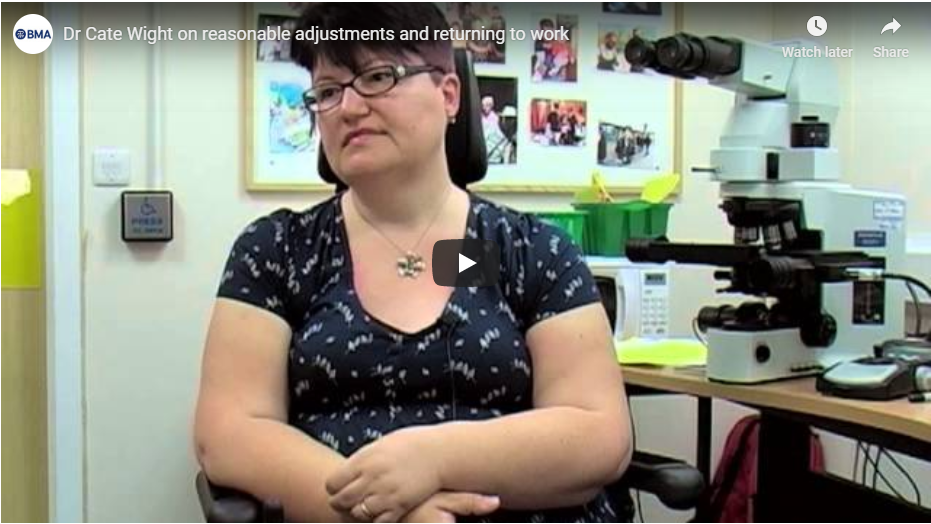 Dr Cate Wight On Reasonable Adjustments video cover