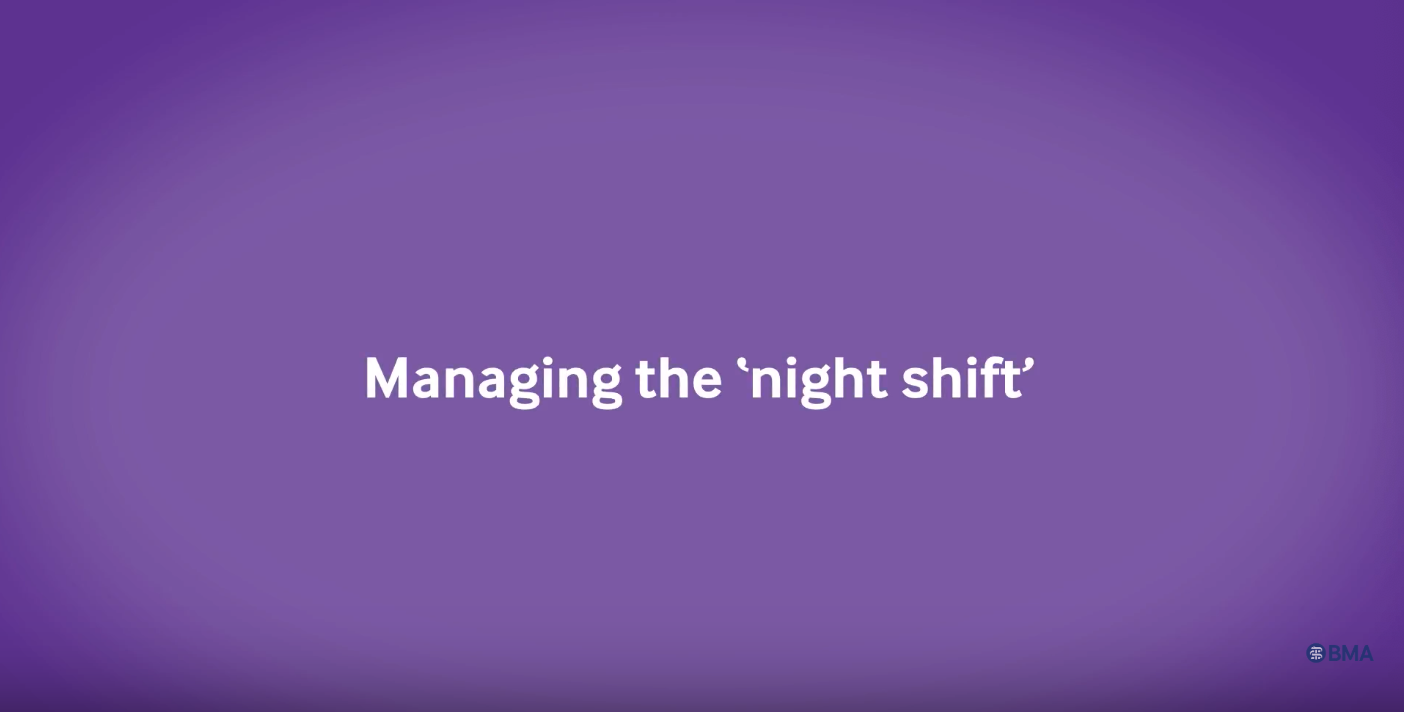 Managing the 'night shift' video cover