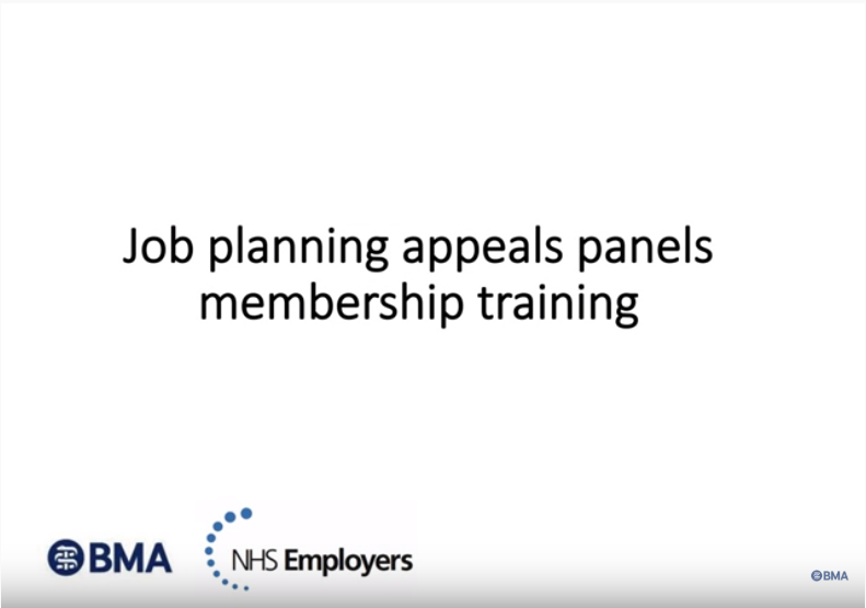 Job Planning Appeals Panels Membership Training video cover
