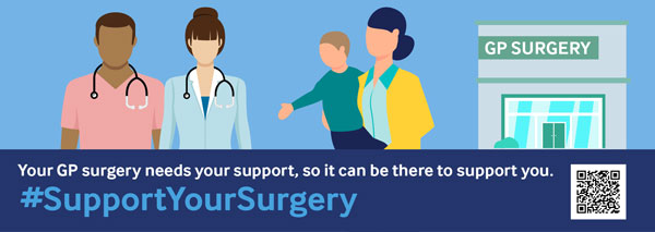 Support your surgery banner